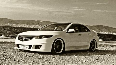 Acura TSX The Way To VIP VIPStyleCarscom - Acura tsx black rims