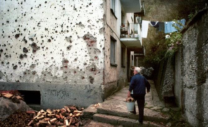 Выживание в городе во время войны
