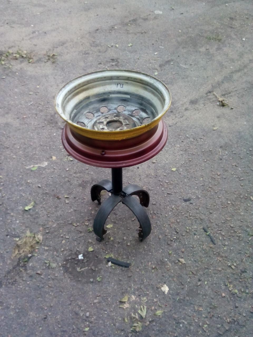 поделки из колесных дисков своими руками фото подборка рецептов блюд
