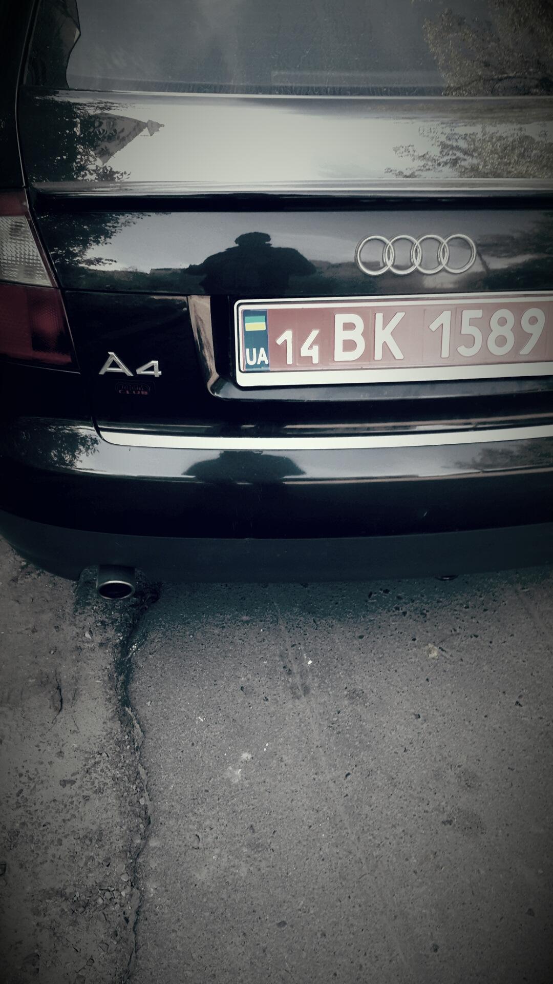 машина продана бортжурнал Audi A4 B6 E8 18t Bfb 5мкпп 2003 года