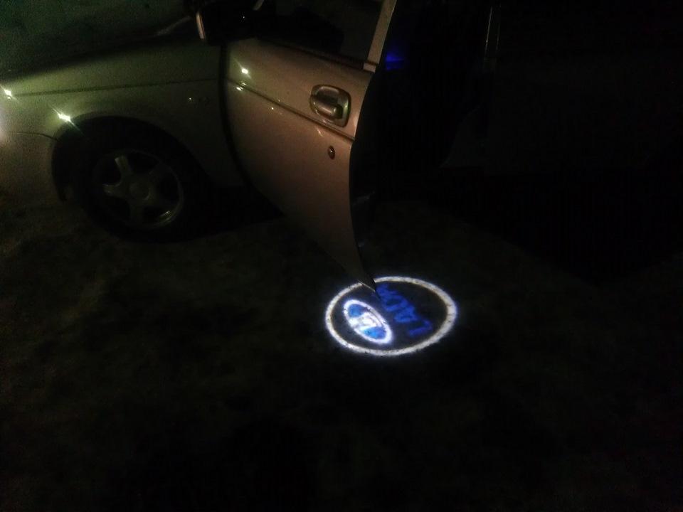 Как сделать подсветку дверей с логотипом своими руками - Усадьба