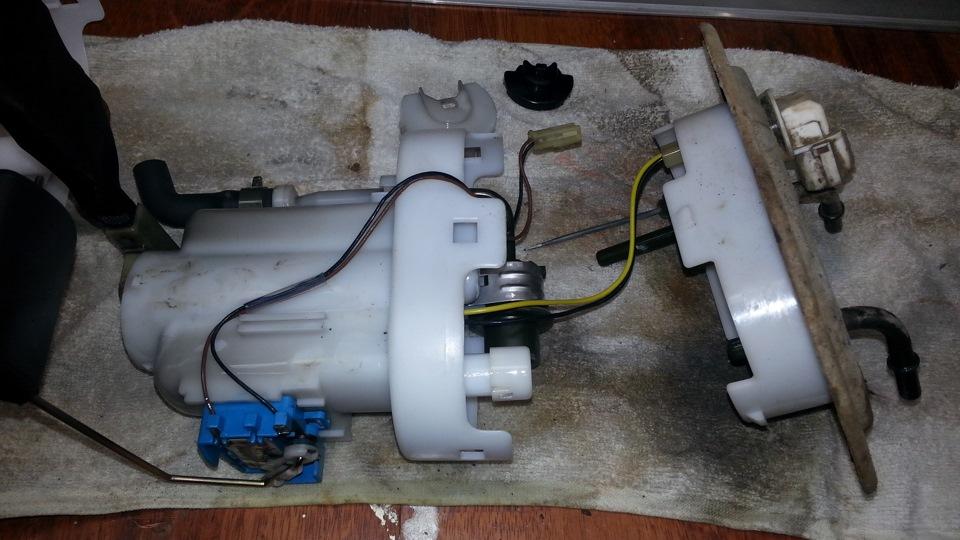 Замена топливного фильтра на хундай туксоне своими руками