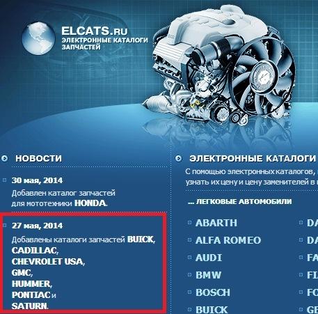 елкатс ру: