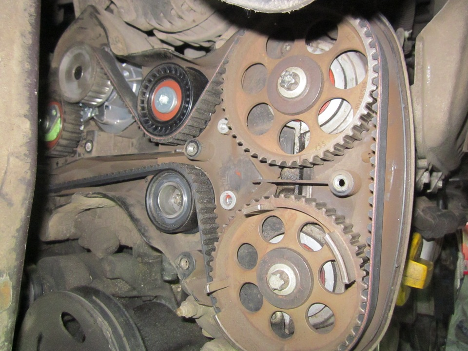 ремонт опель вектра а 1992 порвался грм