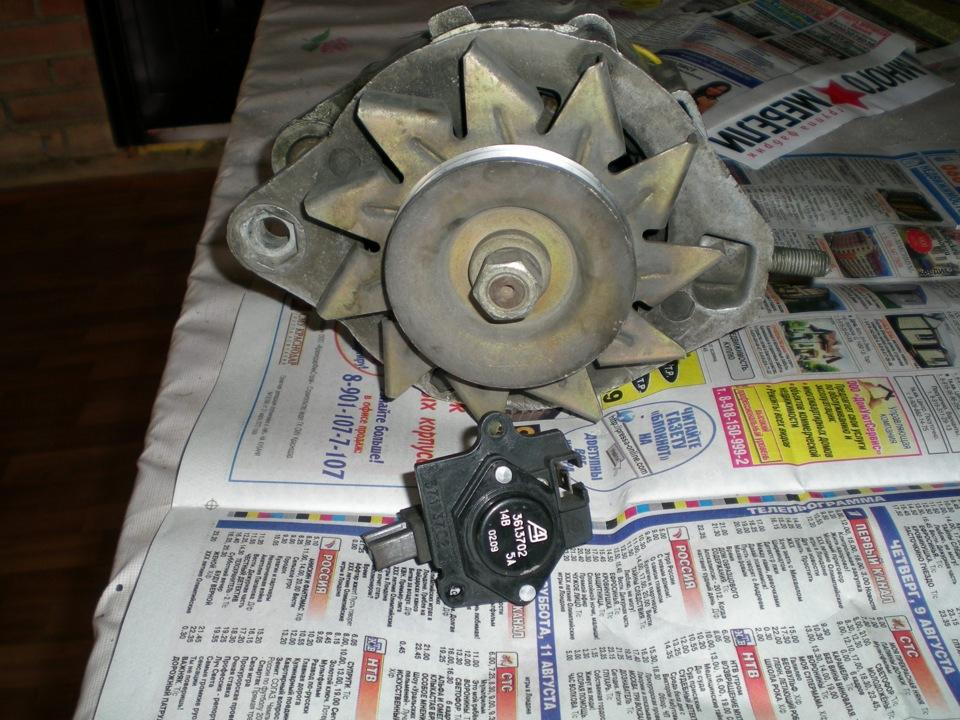 Фото №32 - щетки генератора для ВАЗ 2110