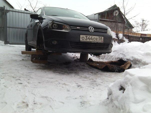 Фотоотчет по ремонту рулевой рейки Фольксваген Поло седан 89