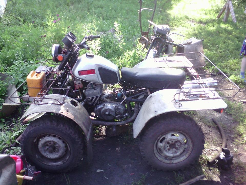 Квадроцикл из мотоцикла иж юпитер 5