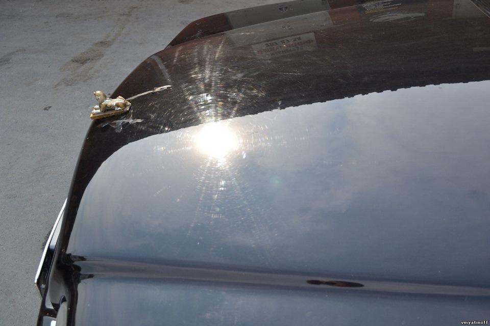 Как убрать паутинку с кузова автомобиля своими руками