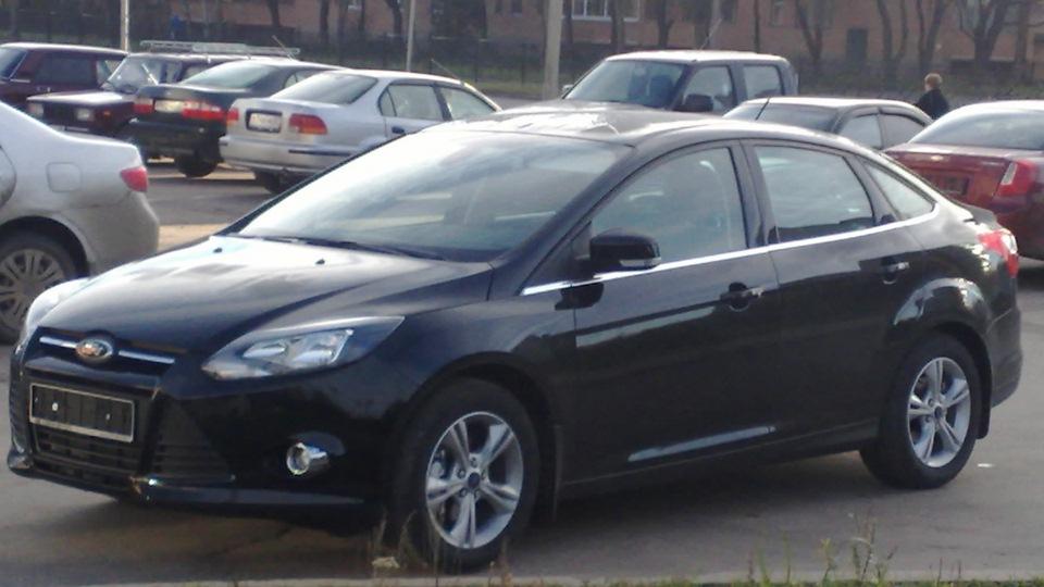 фото форд фокус седан 3 черный