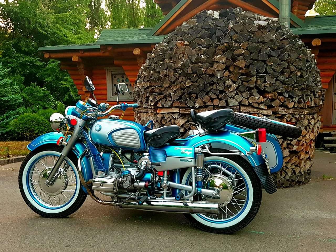наш днепр мотоцикл тюнинг фото являемся клубом владельцев