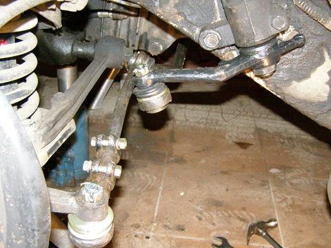 Газ 3110 ремонт рулевой трапеции