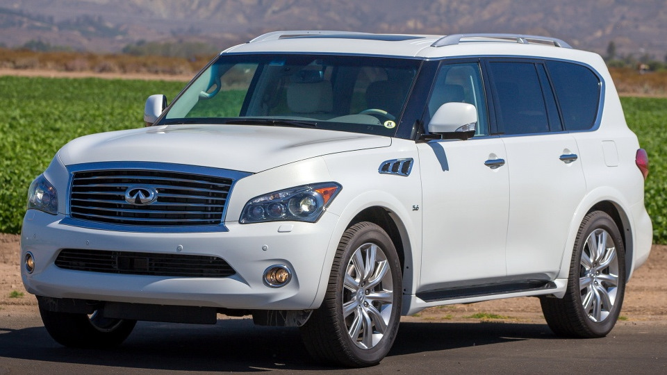 Infinity qx80 reviews