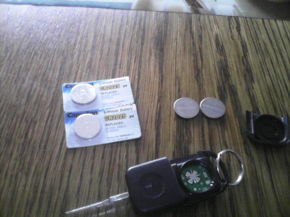 замена батарейки в ключе от мерседеса
