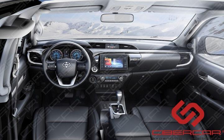 Салон Toyota Hilux 2016 г. в.