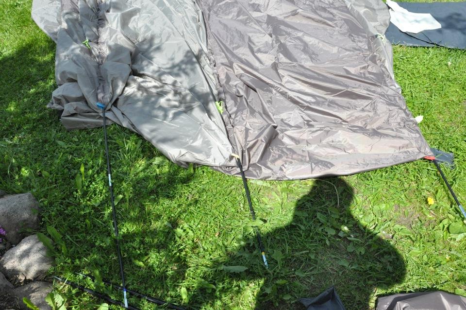 Как собрать палатку (пошаговая инструкция) - YouTube