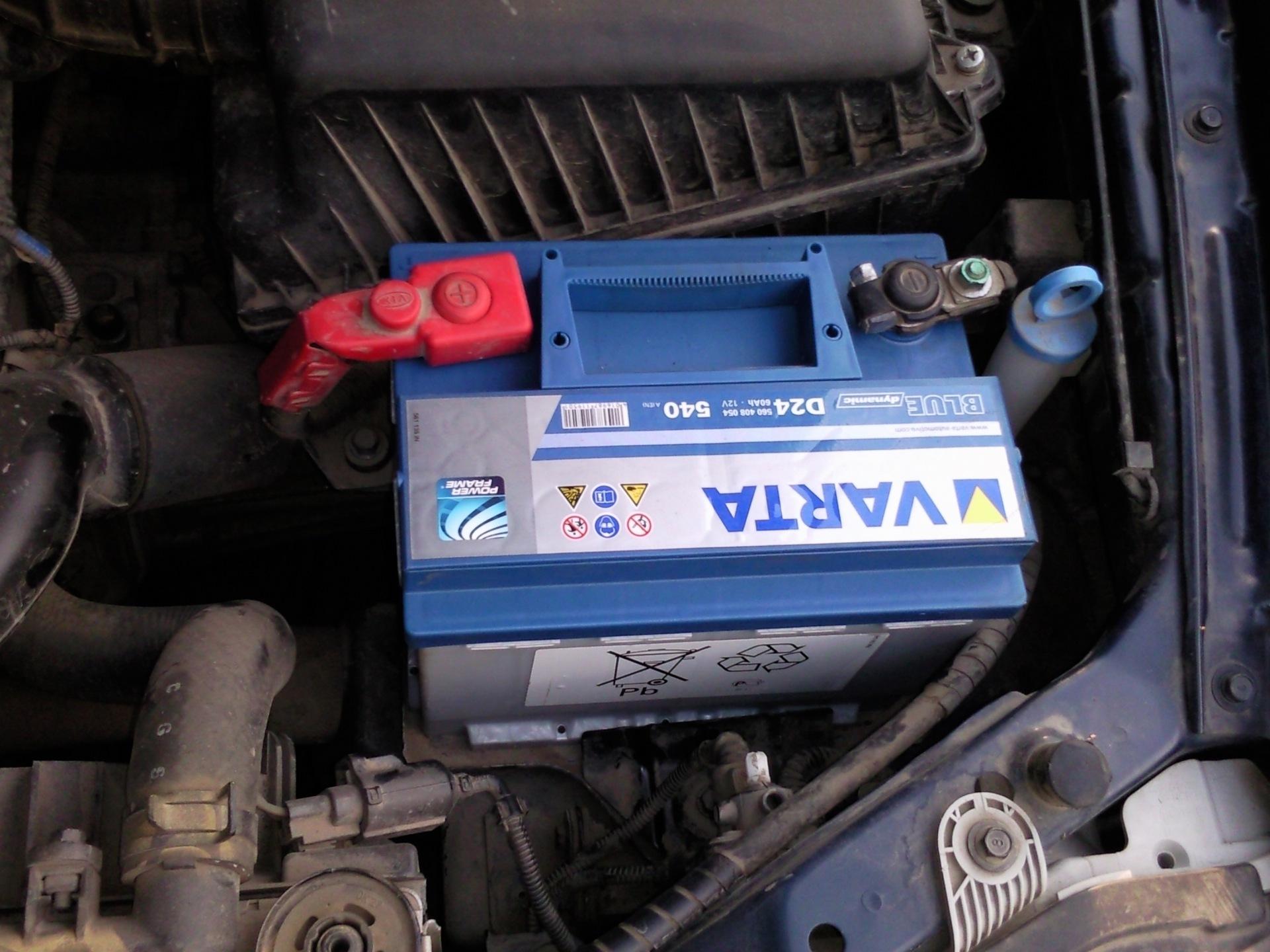 какой аккумулятор лучше для автомобиля киа спектра
