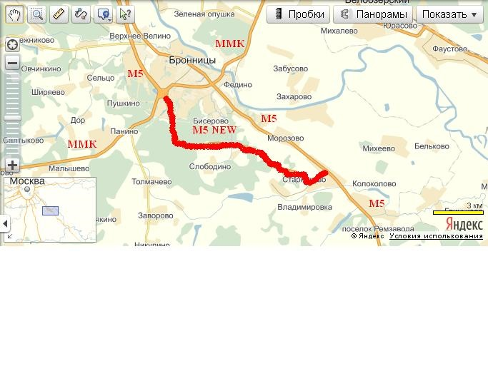 обход города Бронницы: 12