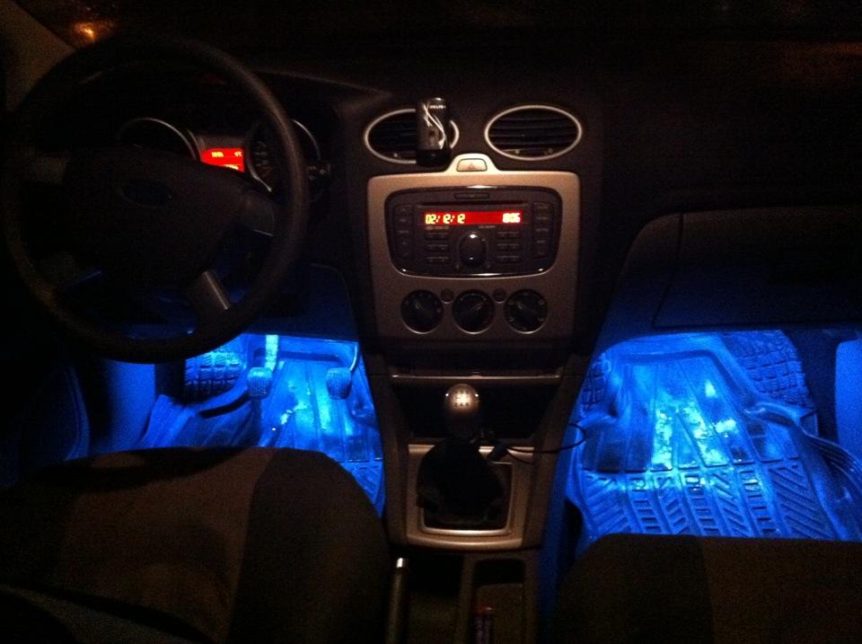 Подсветка для ног форд фокус 2