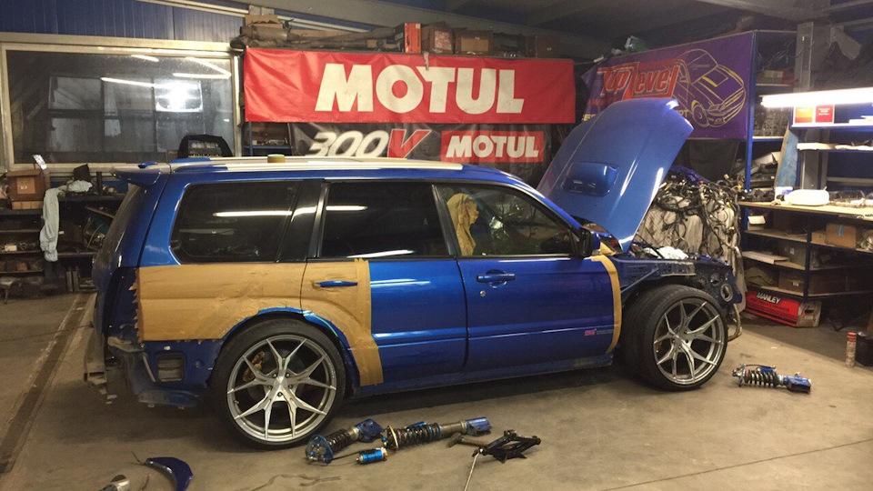 Subaru Forester RocketBunny | DRIVE2