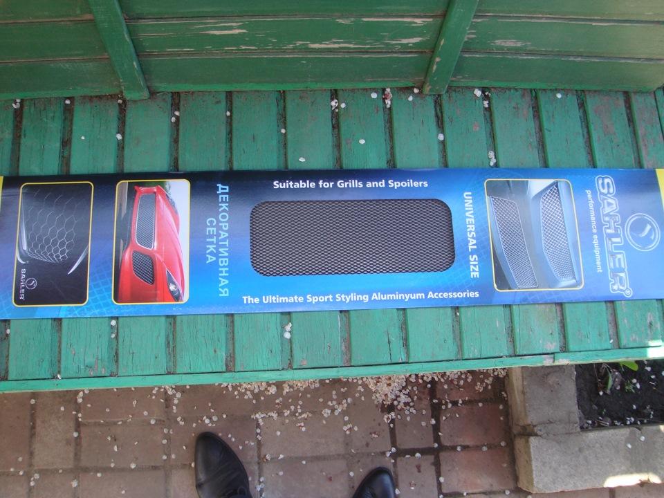 купить защитную сетку на решетку радиатора