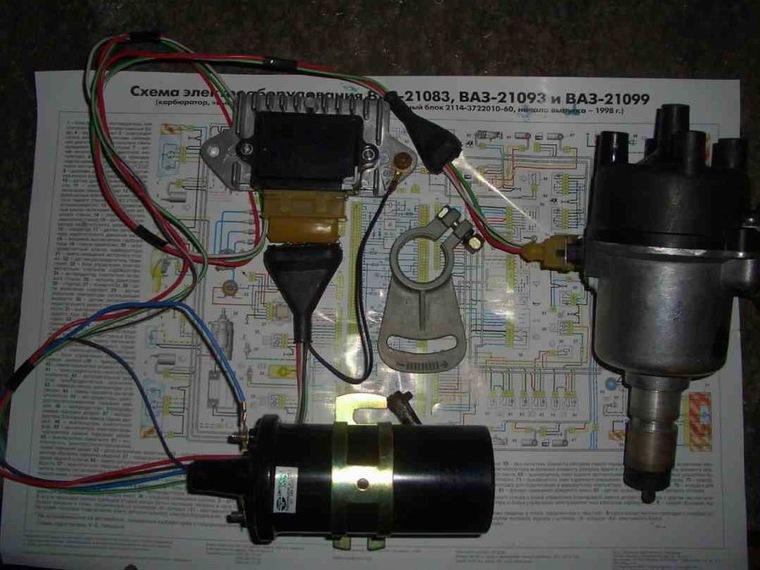 Эксплуатация электрическая схема ваз 21074.
