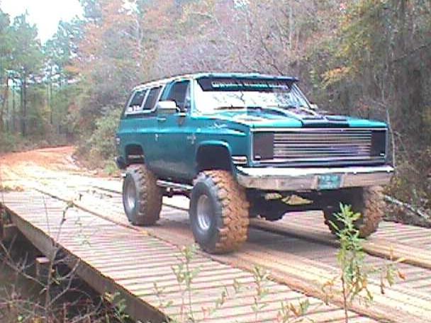 и Chevrolet Blazer К5