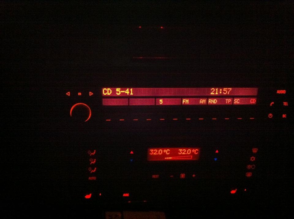 подключение cd чейнджера в BMW e39