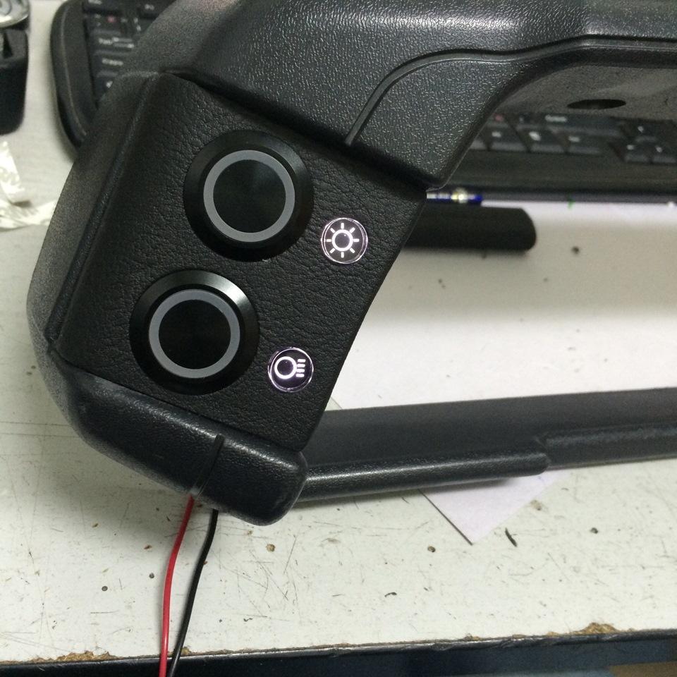 Фото №9 - кнопки на приборной панели ВАЗ 2110