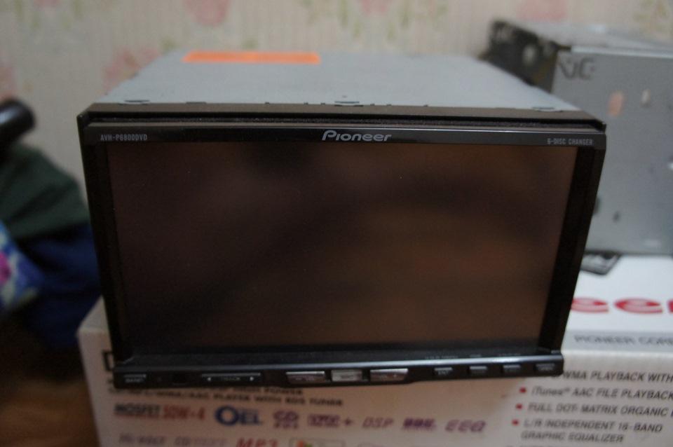 Pioneer AVH-P6800DVD.в