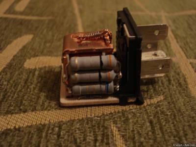 Самодельный шунт из резисторов