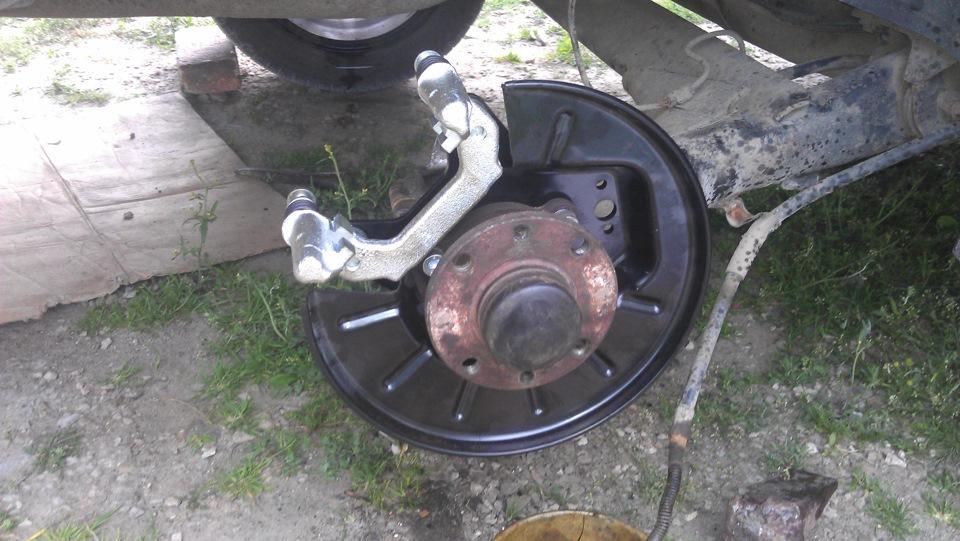 Задние дисковые тормоза ваз 2112