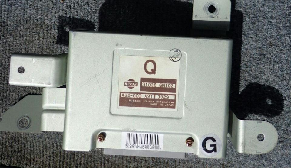 Блок управления АКПП Nissan 31036-6N102