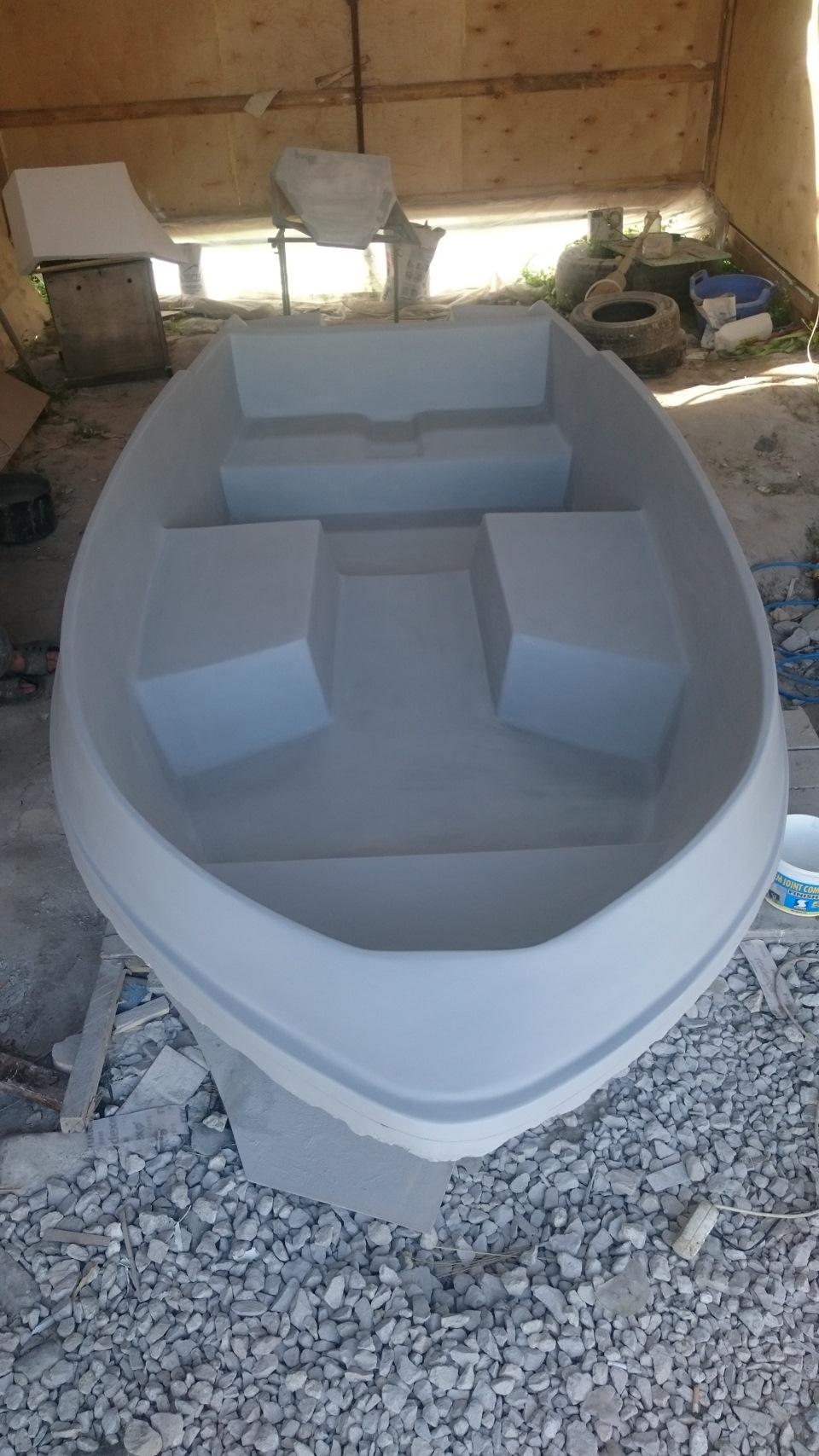 Ремонт лодок из стеклопластика. Правила покраски 96