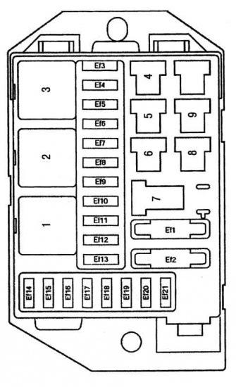 блоков схема предохранителей матиз дэу