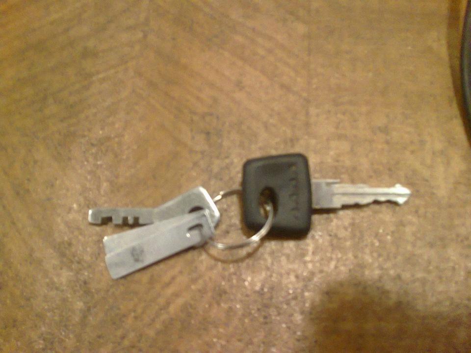 Ключи в брелок сигнализации