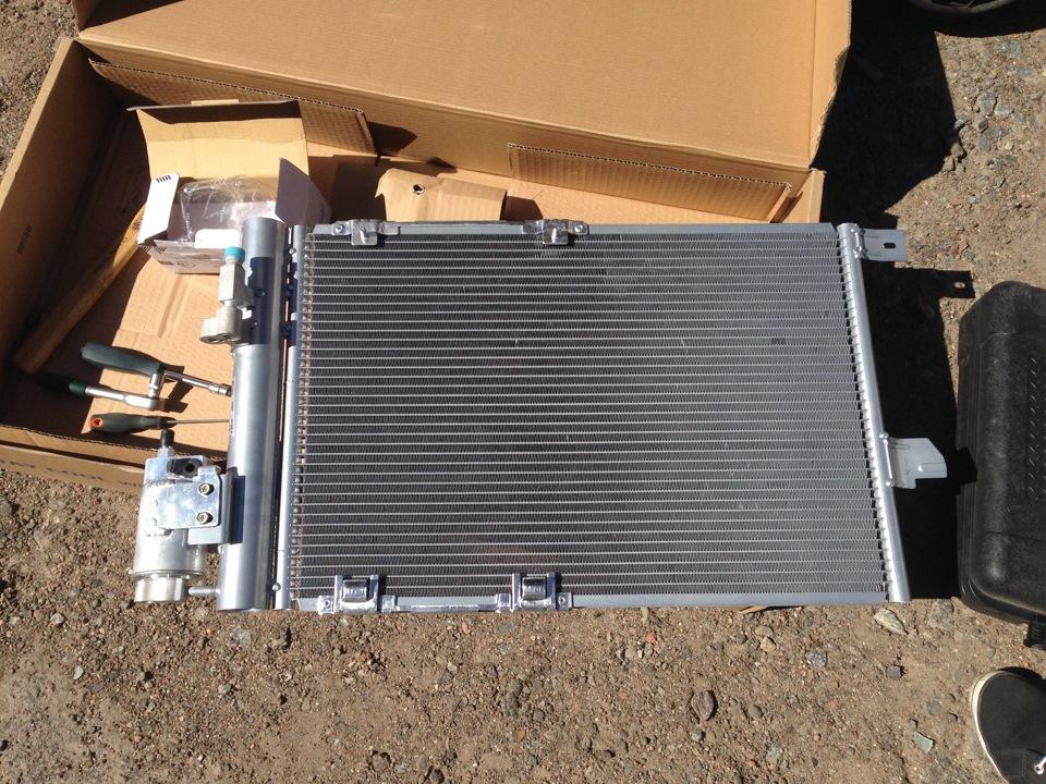 Осушитель радиатора кондиционера