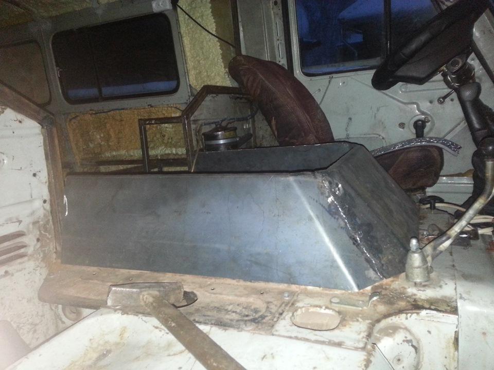 "Капот на буханку - Тюнинг микроавтобуса УАЗ. Охотничий домик из старой ""буханки"""