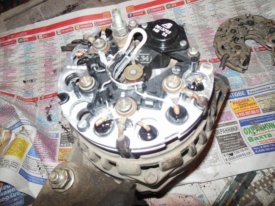 Ремонт ваз 2115 своими руками генератор