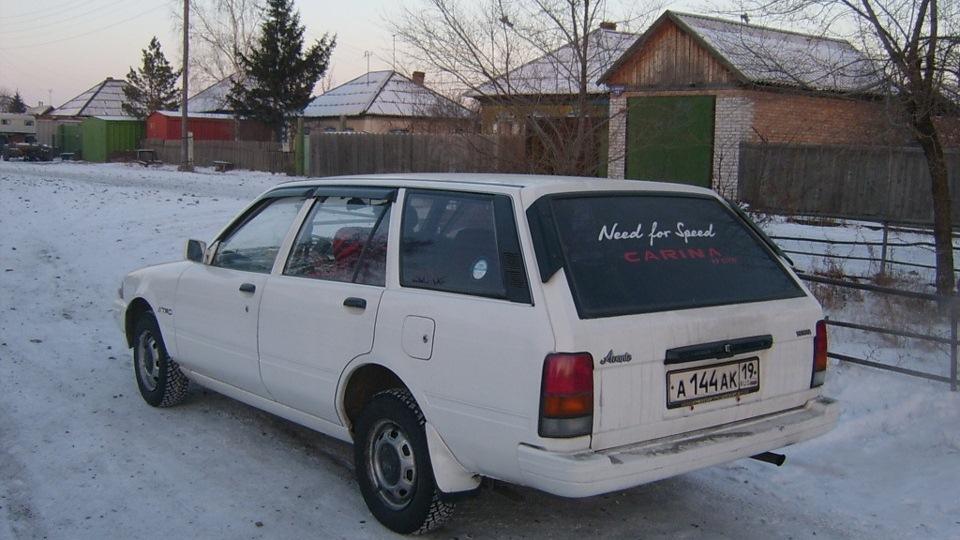 Тойота карина универсал фото