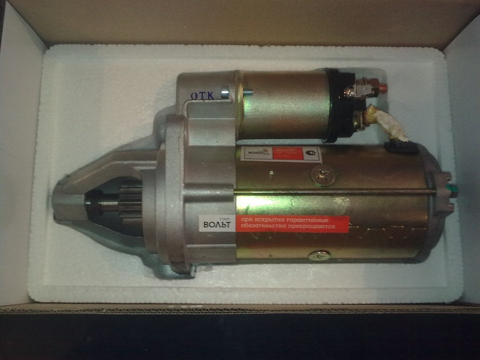 Стартер уаз 417 двигатель