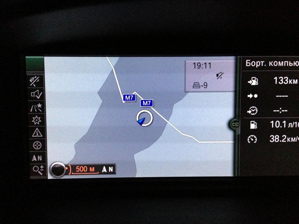 карты для навигатора BMW x5 e53