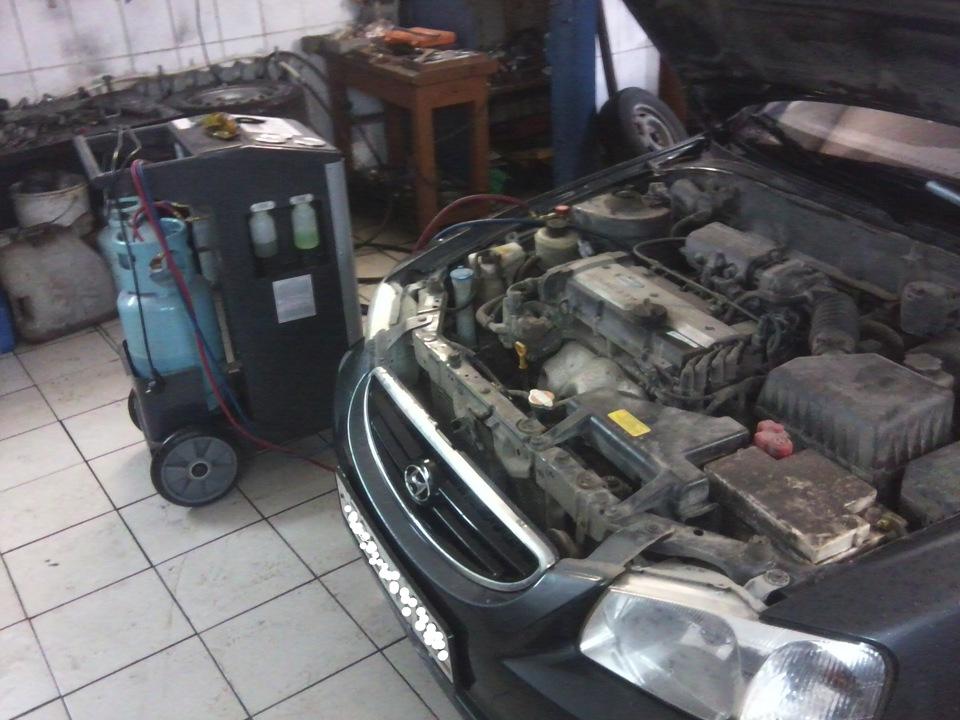 Обслуживание кондиционера | Клуб Hyundai i3 | Хундай Ай 3