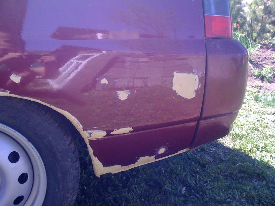 Как убрать рыжики с кузова автомобиля своими