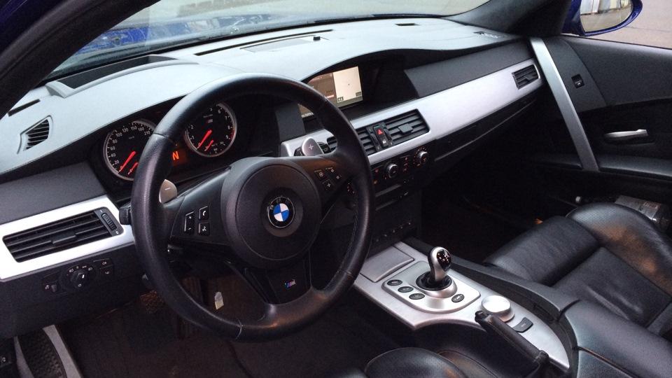 BMW M5 BLUE BAY