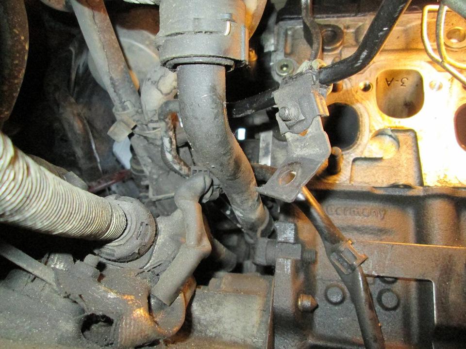 Форд галакси замена термостата