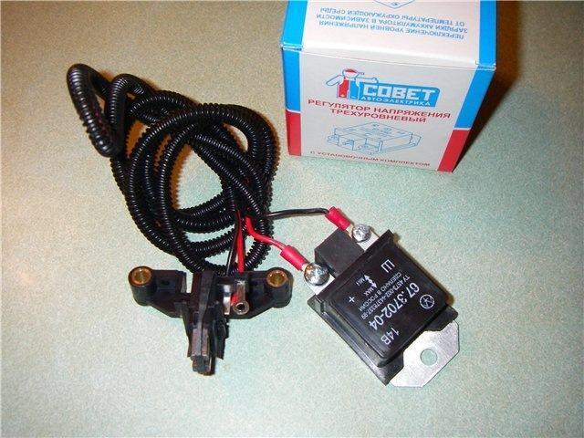 Фото №16 - как установить трехуровневый регулятор напряжения ВАЗ 2110