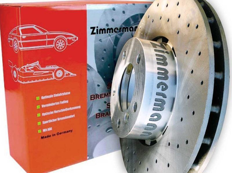 zimmermann sport перфорированный bmw e46