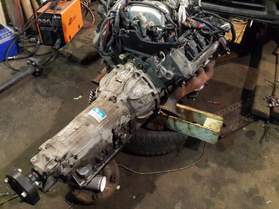 OC: swap Toyota Mark 2 jzx 100 uz fe vvti  Installation of