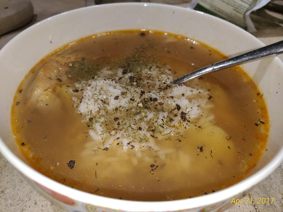 Рыбный суп из сома рецепт