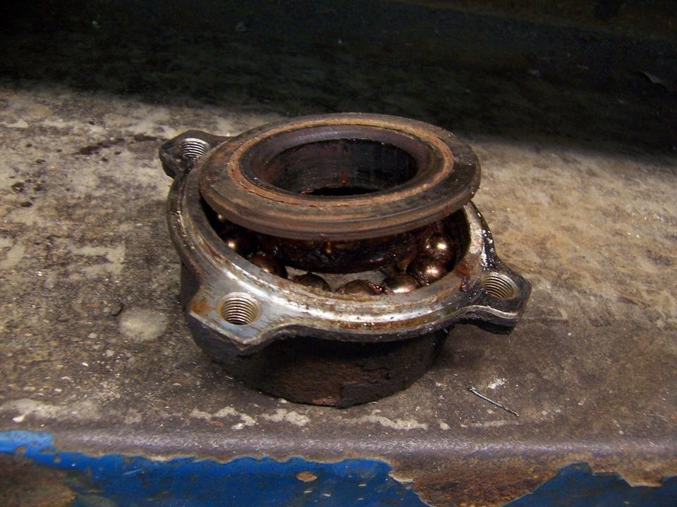замена подшипника задней ступицы на BMW e39